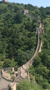 One of the many shots we took of the Great Wall!